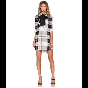 Kate Spade Woodland Plaid Griffin Dress